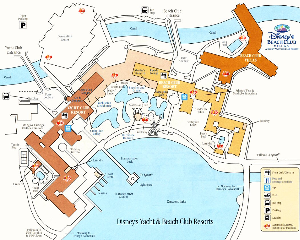 Disney Vacation Club - Beach Club Villas - ParkInfo2Go