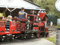 Quassy Amusement Park - Train