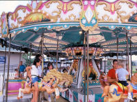 Sam's Fun City - Town Center Carousel