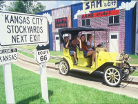 Sam's Fun City - Antique Cars