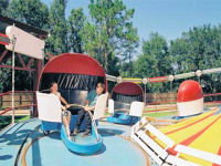 Sam's Fun City - Give Peace-A-Whirl-Tilt-A-Whirl
