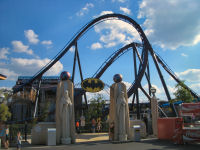 Six Flags New England - Batman - The Dark Knight