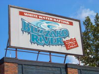 Six Flags New England - Blizzard River