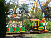 Six Flags New England - Foghorn Leghorn's Tinsel Town Train