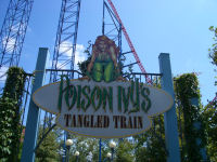 Six Flags New England - Poison Ivy's Twisted Train