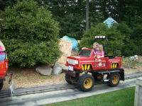 Six Flags New England - Taz's Prop Delivery Company
