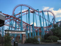 Six Flags New England - The Mind Eraser