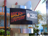 Universal Studios Florida - Back to the Future The Ride