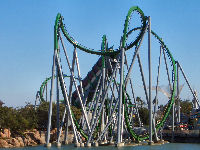 Universal's Island of Adventure - Incredible Hulk Coaster