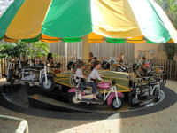 Busch Gardens Tampa Bay - Kiddie Motorcycle Ride