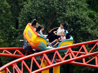 Worlds of Fun - Spinning Dragons