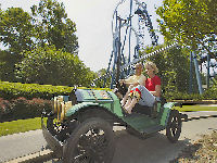 Busch Gardens Williamsburg Le Mans Raceway Attraction Ride Details Parkinfo2go