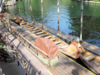 Disneyland - Davy Crockett's Explorer Canoes