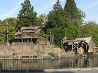 Disneyland - Tom Sawyer Island