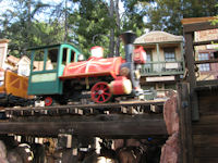 Disneyland - Big Thunder Mountain Railroad