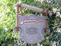 Disneyland - Indiana Jones Adventure