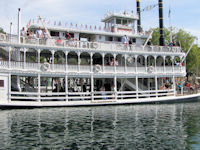 Disneyland - Mark Twain Riverboat