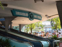 Walt Disney World's Magic Kingdom - Tomorrowland Transit Authority