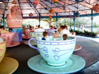 Walt Disney World's Magic Kingdom - Mad Tea Party