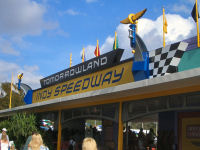 Walt Disney World's Magic Kingdom - Tomorrowland Indy Speedway