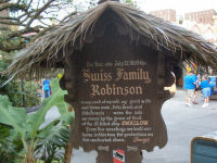 Walt Disney World's Magic Kingdom - Swiss Family Treehouse