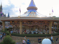 Walt Disney World's Magic Kingdom - Cinderella's Golden Carousel