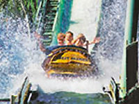 Kings Dominion - Shenandoah Log Flume