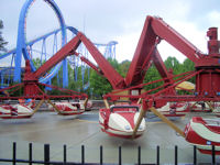 Kings Dominion - Triple Spin
