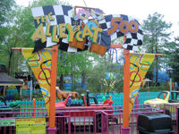 Kings Dominion - Alley Cat 500