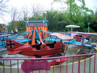 Kings Dominion - Dick Dastardly's Airfield