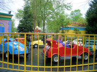 Kings Dominion - Huck's Hot Rods