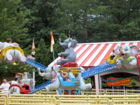 Lake Compounce - Flying Elephants